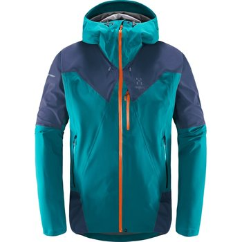 Haglöfs L.I.M Touring Proof Jacket Men, Alpine Green / Tarn Blue, S