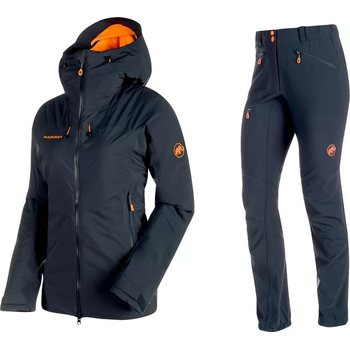 Mammut Nordwand HS Thermo Hooded Jacket Women + Eisfeld Advanced SO Pants Women