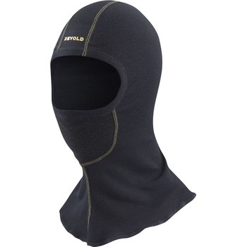 Devold Wool Mesh Balaclava, Caviar, One size fits all
