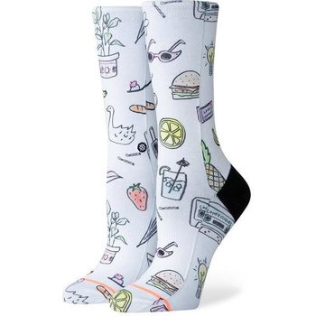 Stance Shopping list, White, S (35-37)
