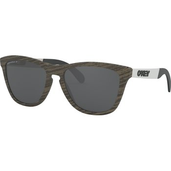 Oakley Frogskins Mix Woodgrain w/ Prizm Black Polarized