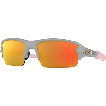 Oakley Flak 2.0 XS, Matte Cool Grey w/ Prizm Ruby