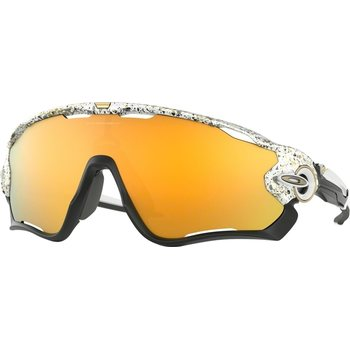Oakley Jaw Breaker, Splatter White w/ 24k Iridium