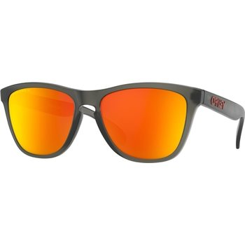 Oakley Frogskins Matte Grey Smoke w/ Prizm Ruby Polarized