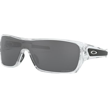 Oakley Turbine Rotor, Polished Clear w/ Prizm Black Polarized Lens