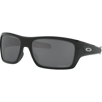 Oakley Turbine, Polished Black w/Prizm Black Polarized