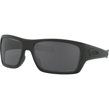 Oakley Turbine, Matte Black w/ Grey Polarized