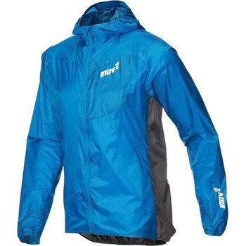 Inov-8 Windshell Windproof Jacket FZ Mens, Blue / Dark Grey, S