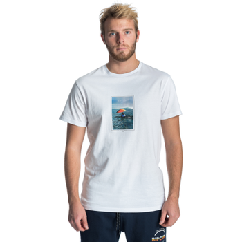 Rip Curl Polarized Short Sleeve Tee, Optical White, S