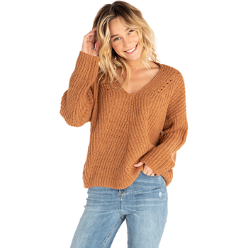 Rip Curl Woven V Neck Sweater