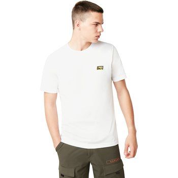 Oakley Broken Tee, White, L