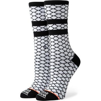 Stance Fish Nets, White, S (35-37)