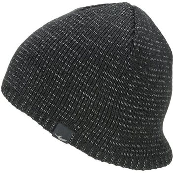 Sealskinz Waterproof Cold Weather Reflective Beanie, Black, S/M