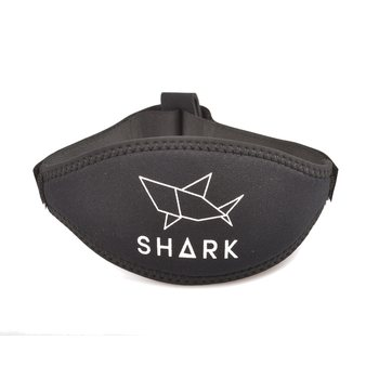 Neoprene mask strap with velcro closure
