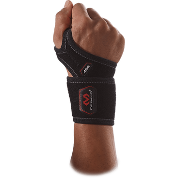 McDavid Wrist support with extra strap (455), Musta, L (16-21cm)