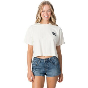 Rip Curl Keep On Surfin Crop Tee