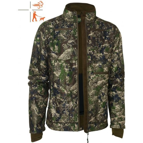 Chevalier Pixel Camo Reversible Windblocker Coat