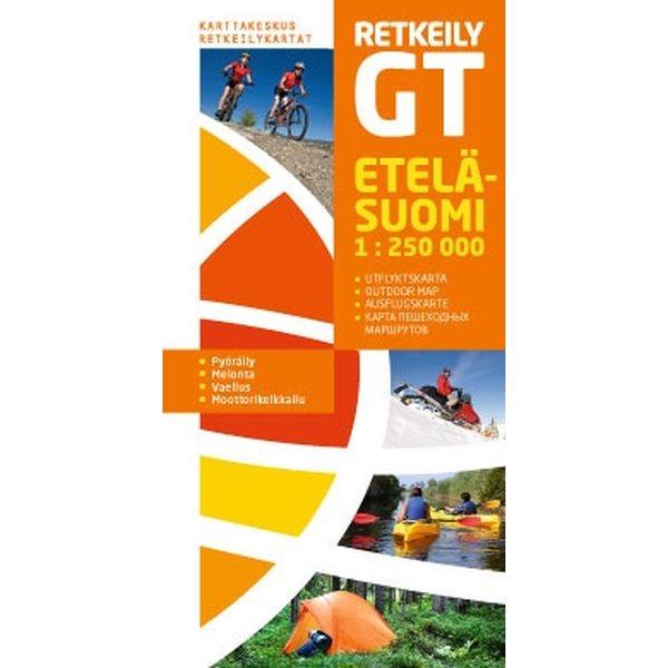 Retkeily Gt Etela Suomi 1 250000 2012 Suomen Retkeily Ja