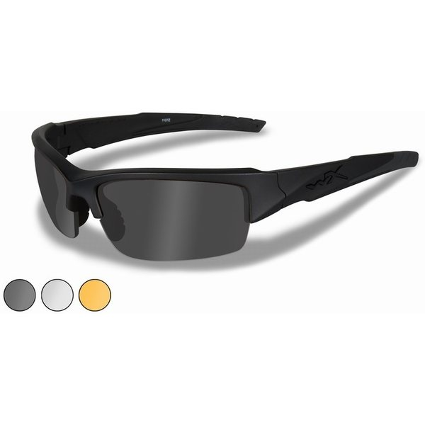 d32a1118d52 Wiley X VALOR Clear Grey Light Rust Matte Black Frame