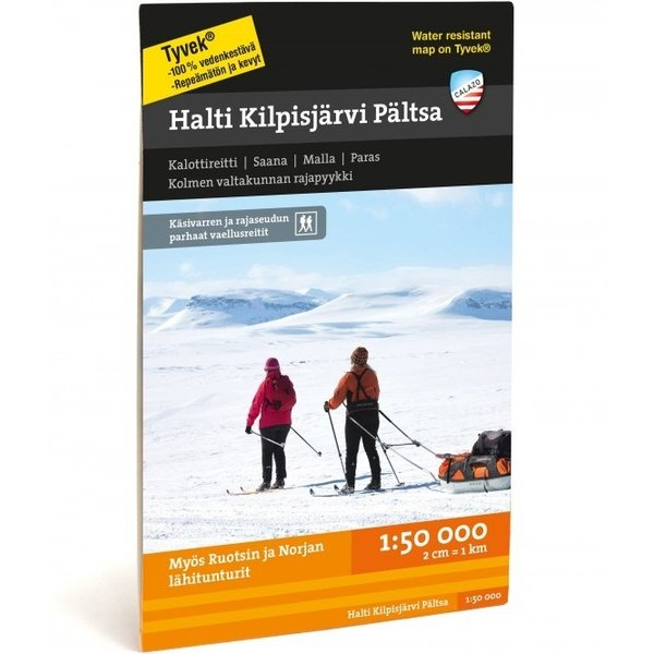 Calazo Halti Kilpisjarvi Paltsa 1 50 000 2017 Suomen Retkeily