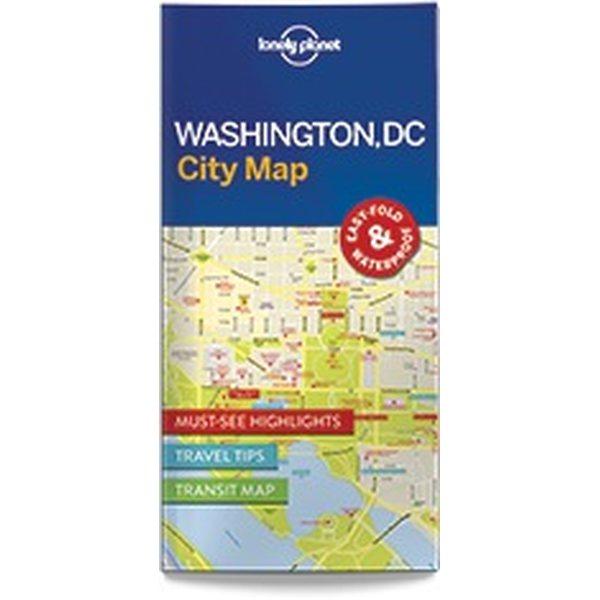 Lonely Planet Washington DC City Map | City maps | Varuste.net Deutsch