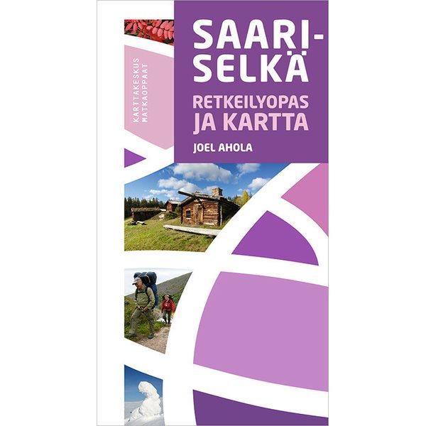 Saariselka Retkeilyopas Ja Kartta 2015 Combinaison Guide Carte