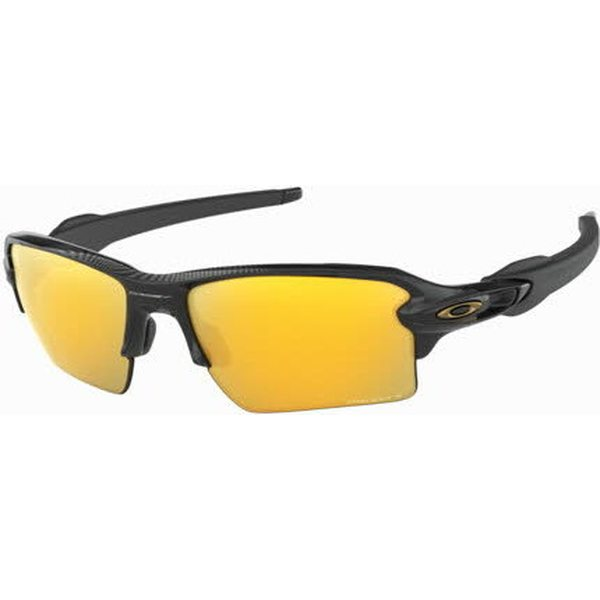 7f929413205 Oakley Flak 2.0 XL Polished Black w  Prizm 24K Polarized