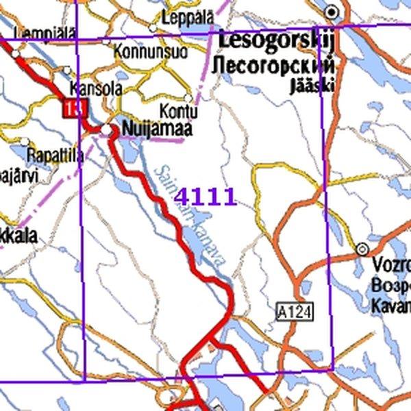 Jääski Kartta