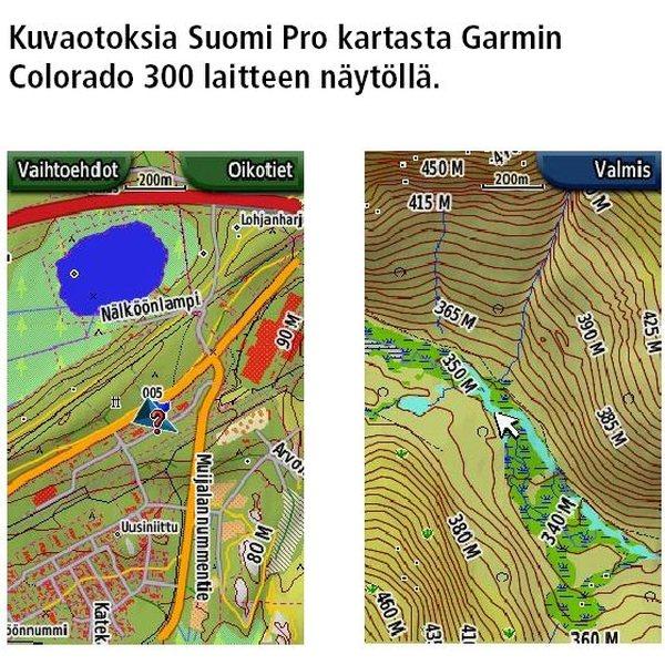 Garmin Suomi Pro Kartta Koko Suomi Mikrosd Sd Kortti