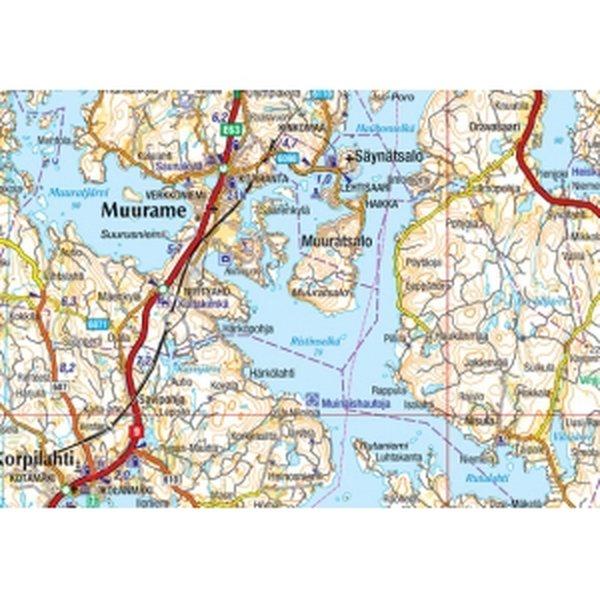 Gt 01 Tiekartta 2008 Ahvenanmaa Turku 1 250 000 Varuste Net