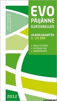 Evo Paijanne Ilvesvaellus 1 25000 2012 Suomen Retkeily Ja