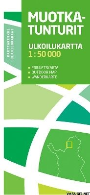 Muotkatunturit 1 50000 2009 Outdoor Maps Of Finland Varuste