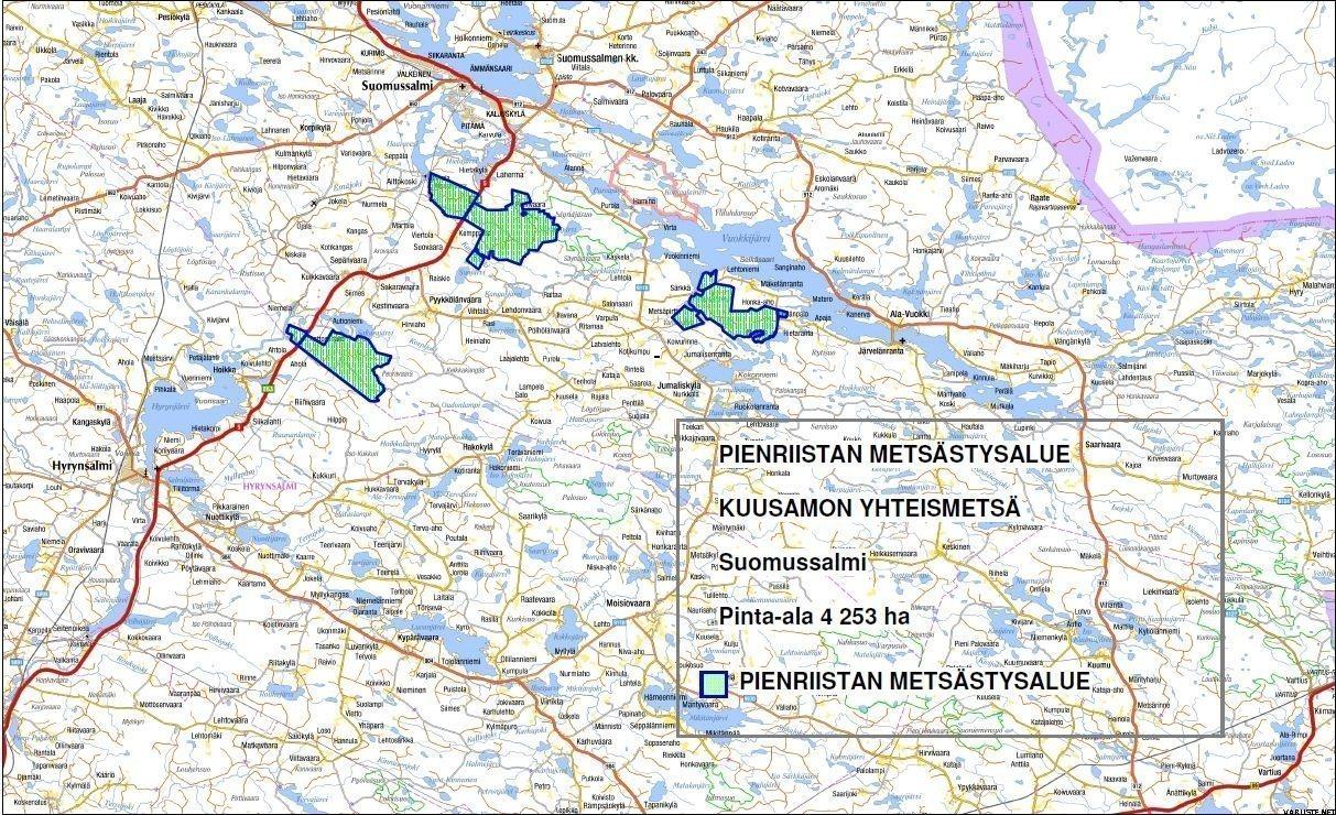 Kuusamon Yhteismetsa September 2014 Day License Suomussalmi
