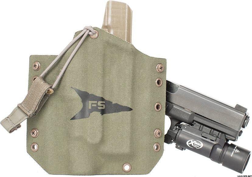 First Spear SSV™ Pistol Holster, Weapon Light - 1911-2 (Colt, Springfield  Armory, & Kimber) integrated rail frame