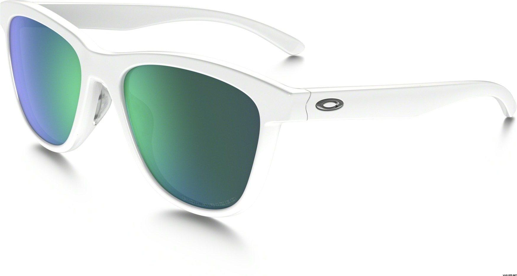 Oakley Moonlighter Sonnenbrille Polished White/Jade Iridium gcGozP9