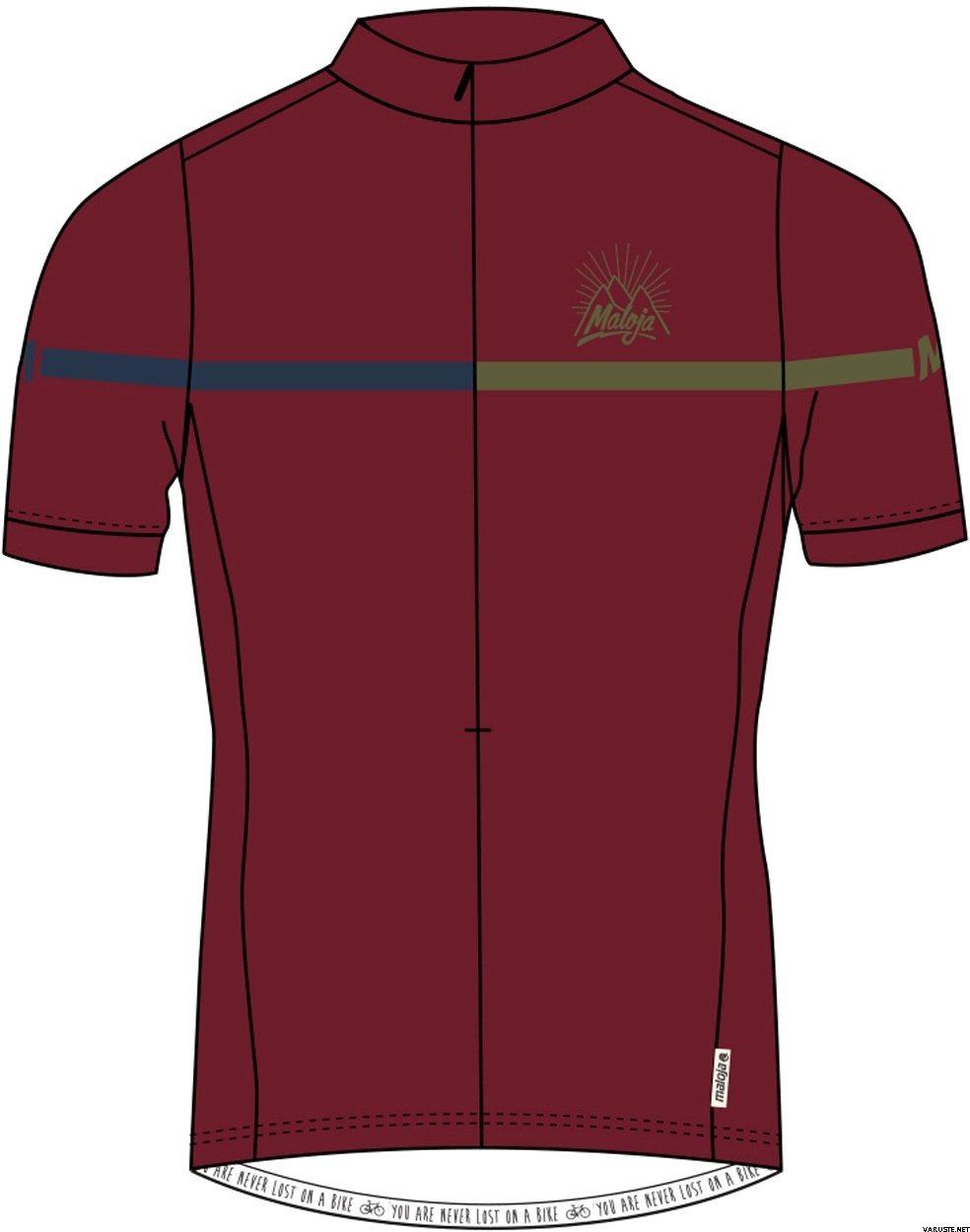 7703f6d9f Maloja BusterM 1 2 Short Sleeve Bike Jersey