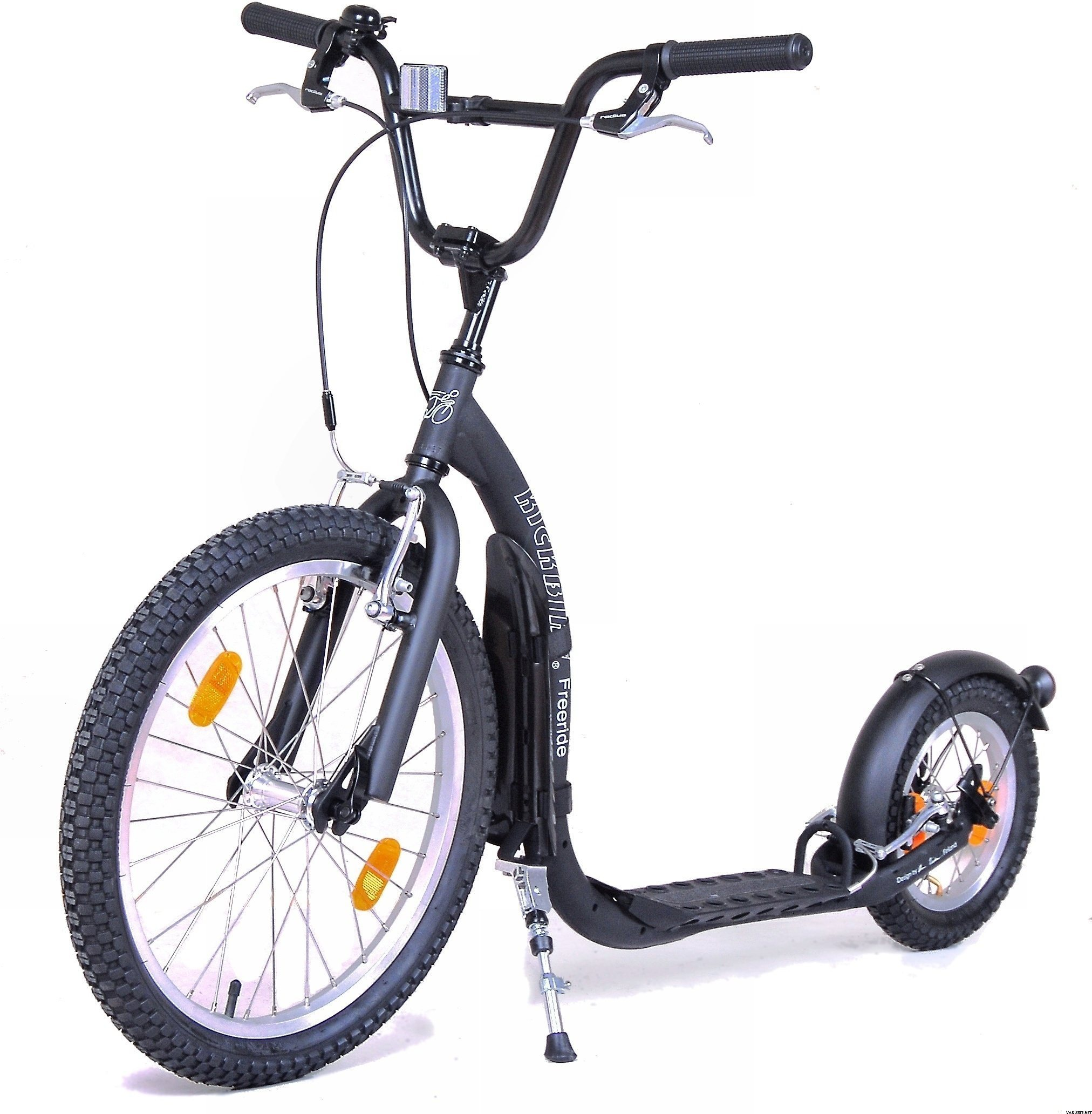 Kickbike Freeride + water bottle and cage