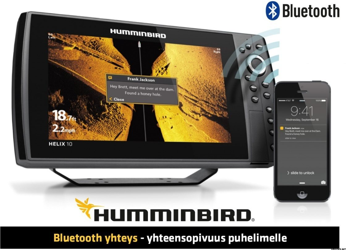 How To Use Humminbird Helix 7 Si