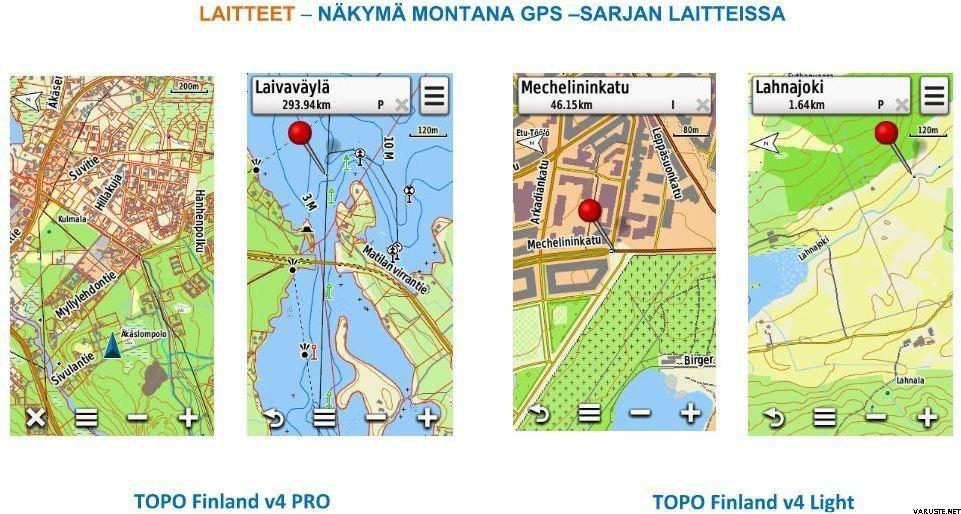 Garmin Topo Finland V4 Pro Micro Sd Elektroniset Kartat