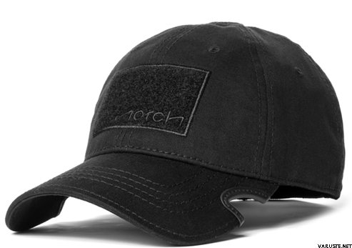 Notch Classic Fitted Hat Black Operator