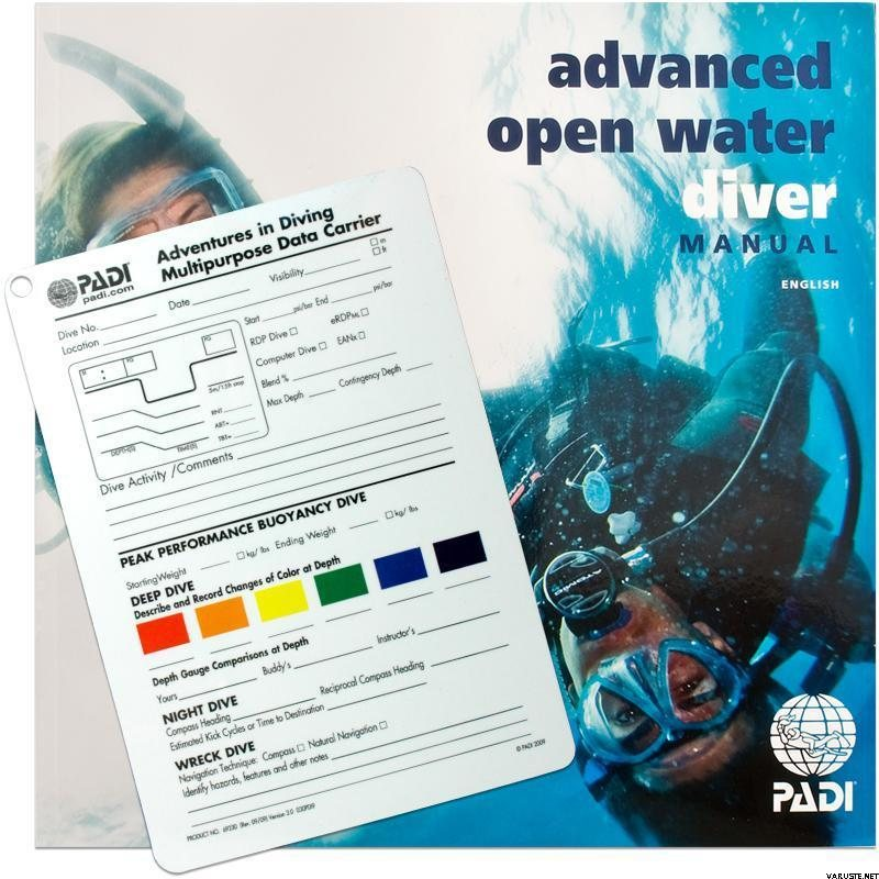 padi advanced open water diver manual slate diving course book rh varuste net padi advanced open water manual free download padi advanced open water manual pdf download