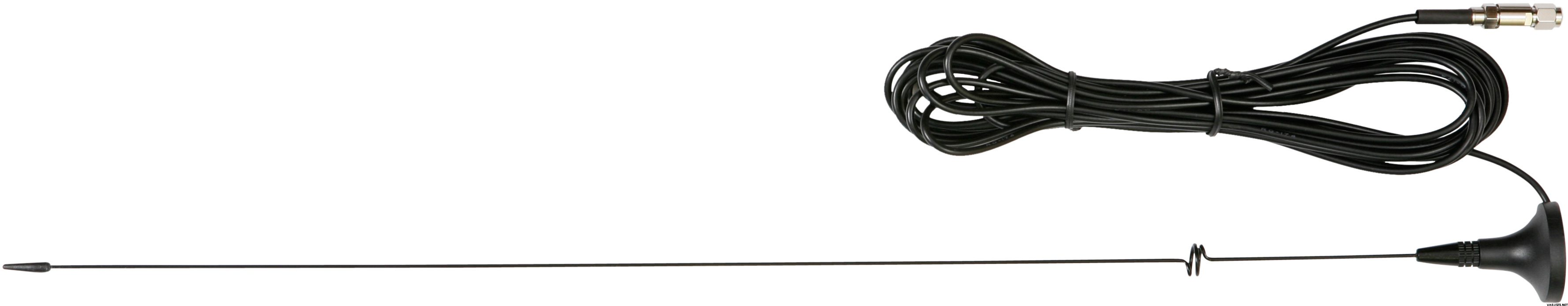 Lafayette Smart/M5 car antenna 70-155 MHz with magnet, 4m cord (3410)