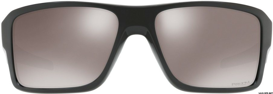 87cf64fd77f Oakley Double Edge Polished Black w  Prizm Black Polarized