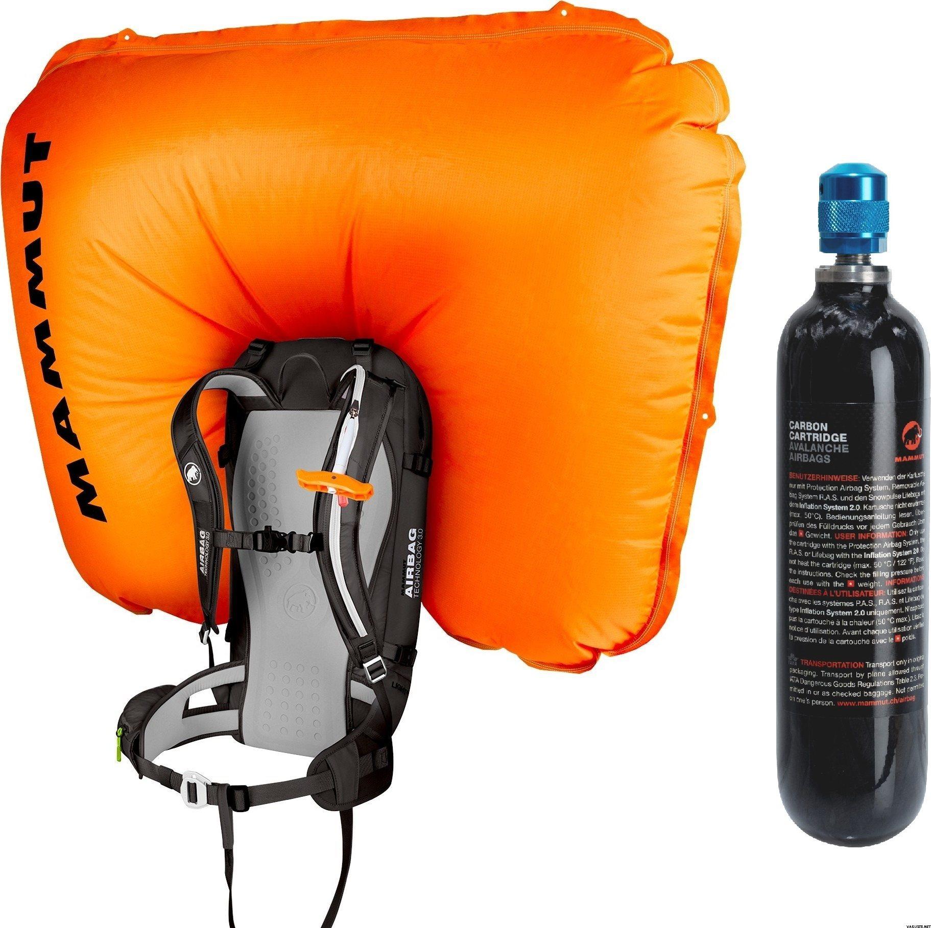 fdedd98930 Mammut Light Removable Airbag 3.0 (30L) + kaasupatruuna