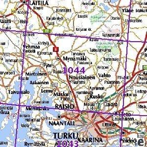 Mynamaki 91 94 Sk Taitettu 1044 Topografinen Kartta Varuste Net