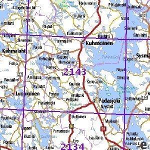 Padasjoki 94 95 96 Sk Taitet 2143 Topografinen Kartta Varuste Net