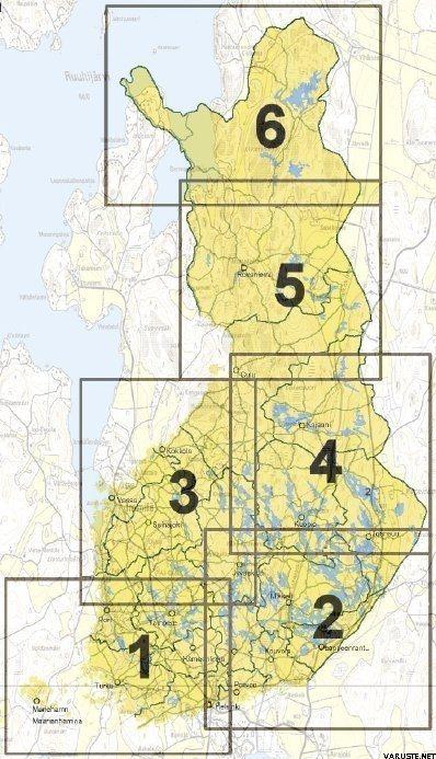 Garmin Suomi Pro Kartta Alue 5 5 Eri Karttaa Yhdessa Mikrosd Sd