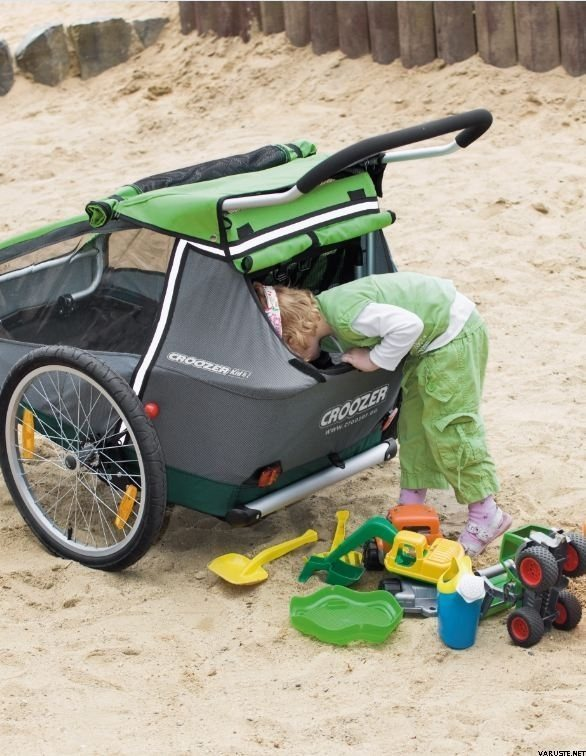 croozer kid for 2 2014 croozer bicycle trailers. Black Bedroom Furniture Sets. Home Design Ideas