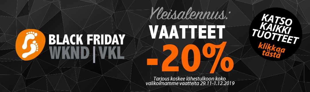 Black Friday 2020 | Vaatteet & kengät | Suomi24Nettialet
